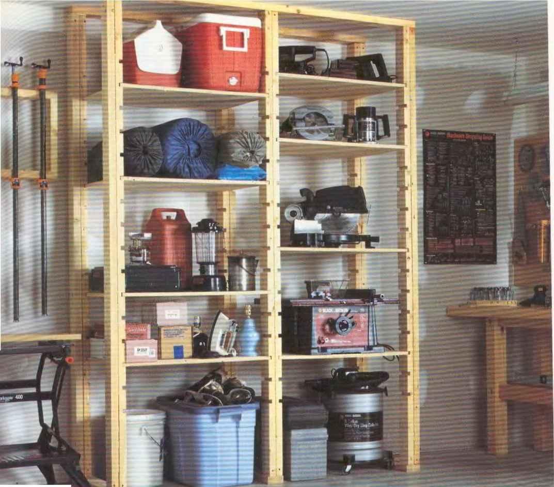 Обустройство гаража: системы хранения, мебель 86