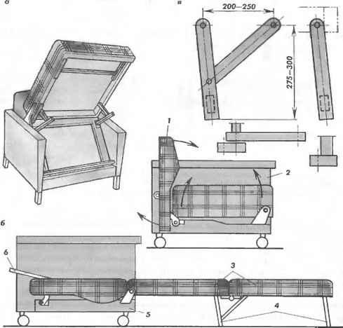 Кресла кровати сделать своими руками