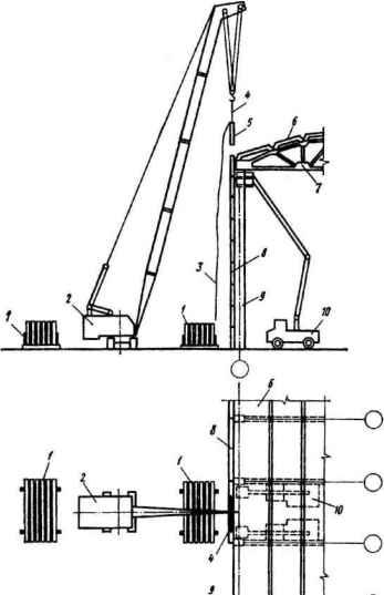 Схема монтажа стеновых